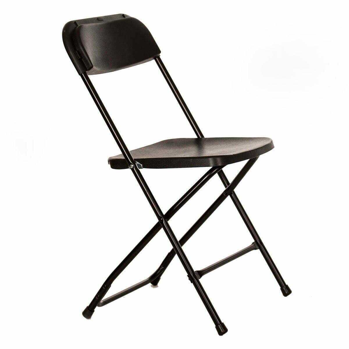 Plastic folding chair - Angle