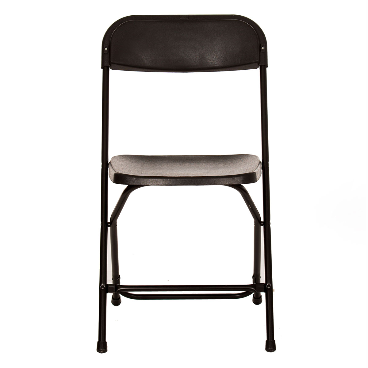Plastic folding chair - Front